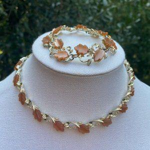 VTG LISNER Lucite Bracelet Necklace